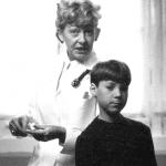 De jonge Richard met de pietenzuster, Early Monsanto, Trees van der Donck.