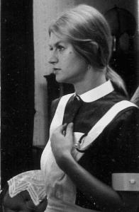 De verpleegster, Margreet Blanken.